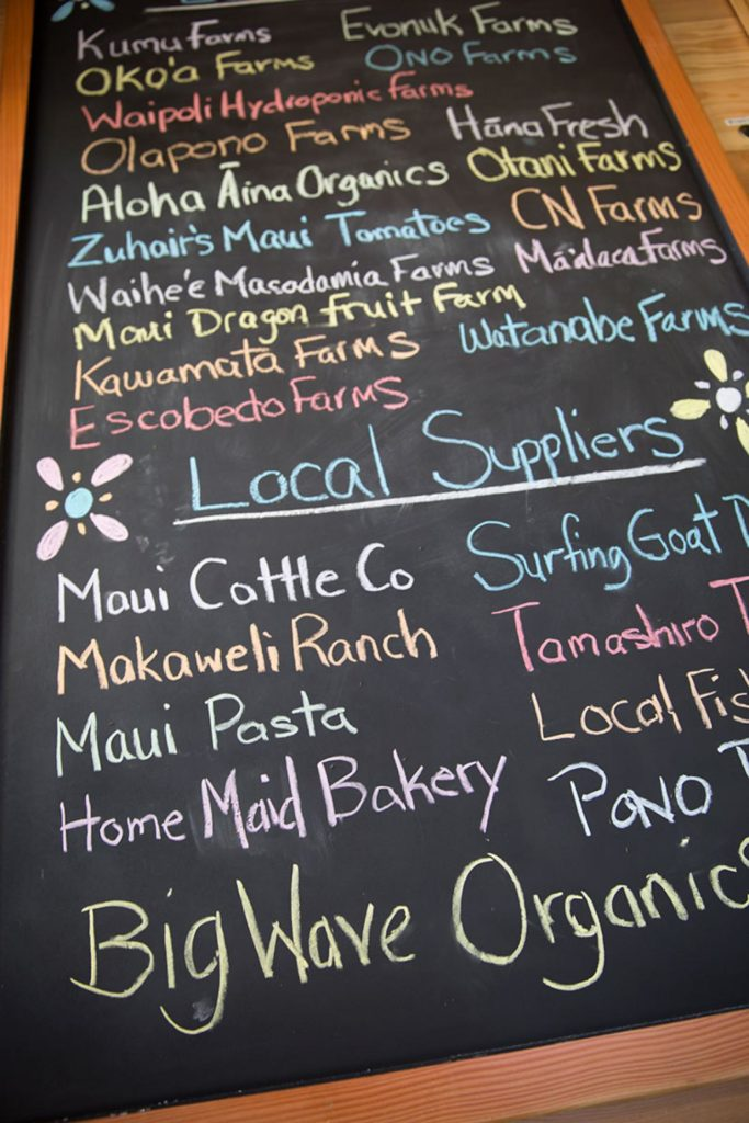 Farm to Table Maui