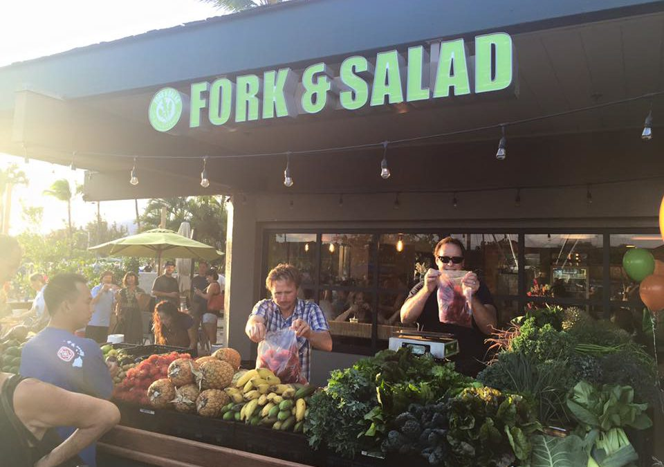 Fork & Salad Hosts Evening Farmers' Market