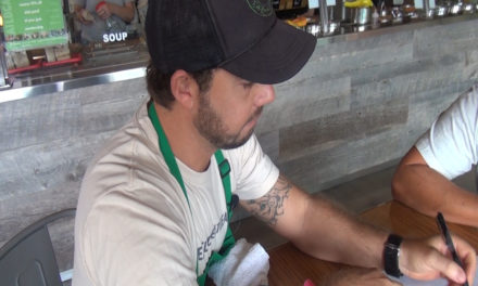 Get to Know Chef Jaron:  He Cooks AND Coordinates!
