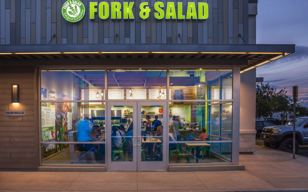 Fork & Salad Welcomes YOU in Kahului!!